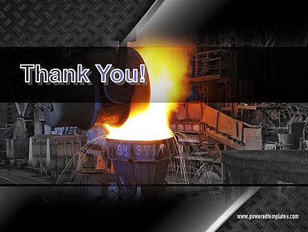 Steel Mill PowerPoint Template Slide 20