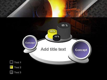 Steel Mill PowerPoint Template Slide 6