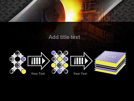 Steel Mill PowerPoint Template Slide 9