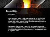 Steel Mill PowerPoint Template#2
