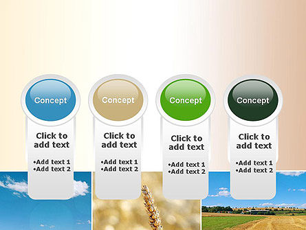 Wheat Cultivation PowerPoint Template Slide 5