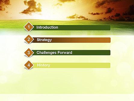 Dawn PowerPoint Template, Slide 3, 10886, Nature & Environment — PoweredTemplate.com