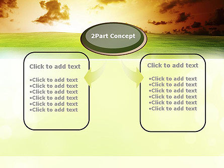 Dawn PowerPoint Template, Slide 4, 10886, Nature & Environment — PoweredTemplate.com