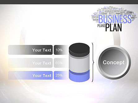 Business Plan Word Cloud PowerPoint Template Slide 11
