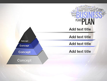 Business Plan Word Cloud PowerPoint Template Slide 12