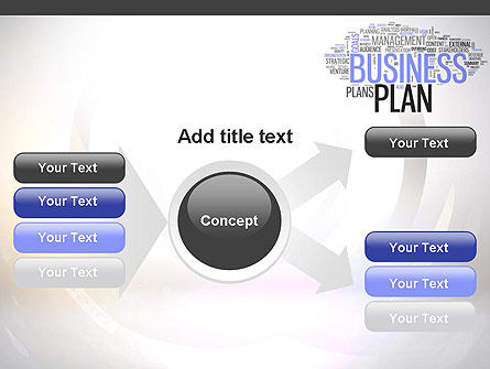 Business Plan Word Cloud PowerPoint Template Slide 14
