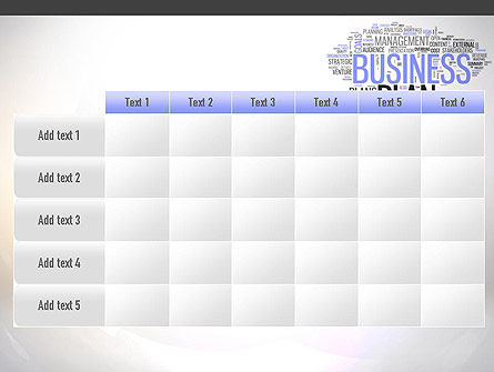 Business Plan Word Cloud PowerPoint Template Slide 15