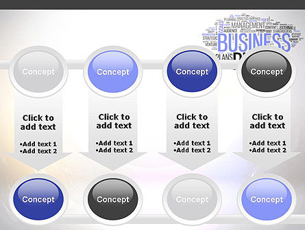 Business Plan Word Cloud PowerPoint Template Slide 18