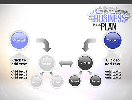 Business Plan Word Cloud PowerPoint Template Slide 19