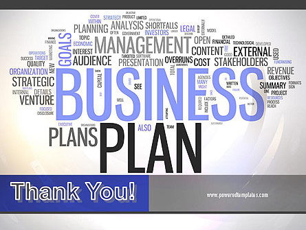 Business Plan Word Cloud PowerPoint Template Slide 20