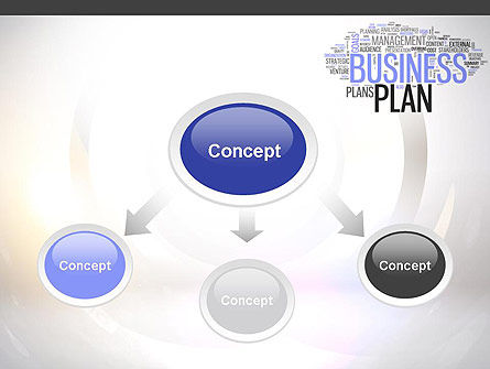 Business Plan Word Cloud PowerPoint Template Slide 4