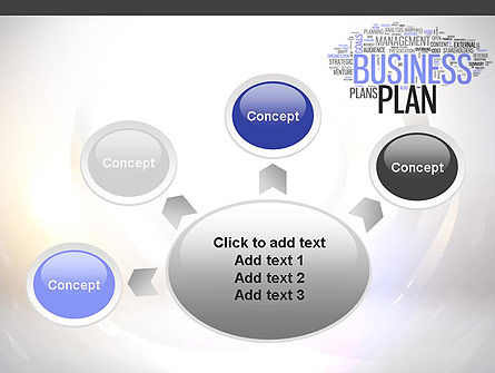 Business Plan Word Cloud PowerPoint Template Slide 7