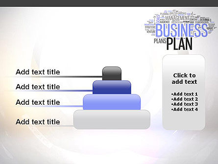 Business Plan Word Cloud PowerPoint Template Slide 8