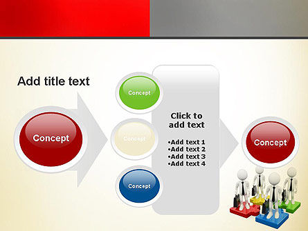 Business People Team PowerPoint Template Slide 17