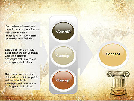 Ionic Column PowerPoint Template Slide 11