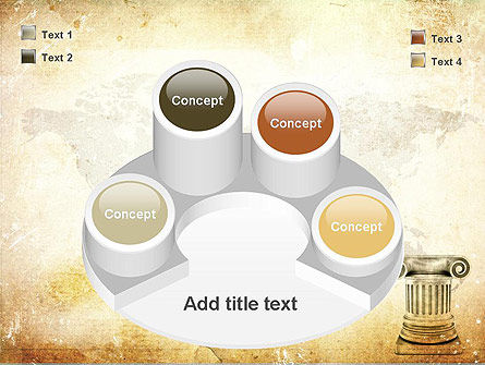 Ionic Column PowerPoint Template Slide 12
