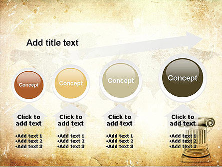 Ionic Column PowerPoint Template Slide 13