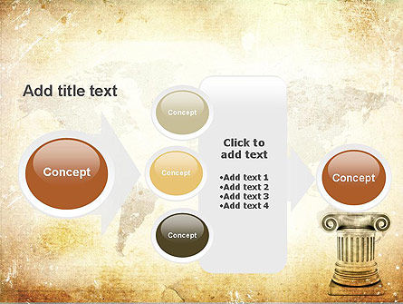 Ionic Column PowerPoint Template Slide 17