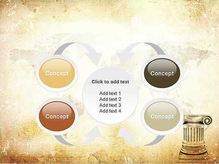 Ionic Column PowerPoint Template Slide 6