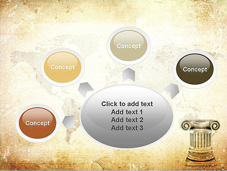Ionic Column PowerPoint Template Slide 7