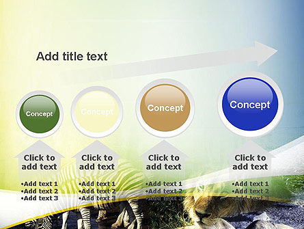 African Fauna PowerPoint Template Slide 13