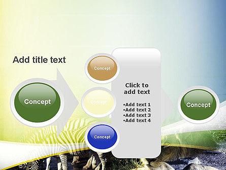 African Fauna PowerPoint Template Slide 17