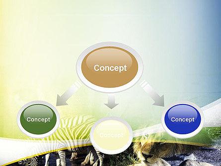 African Fauna PowerPoint Template, Slide 4, 10894, Nature & Environment — PoweredTemplate.com