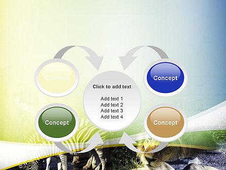 African Fauna PowerPoint Template Slide 6