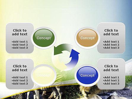 African Fauna PowerPoint Template Slide 9