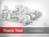 Industrial Machinery PowerPoint Template#20