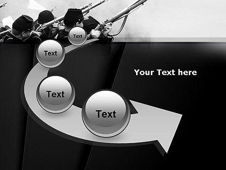 Civil War of America PowerPoint Template Slide 6