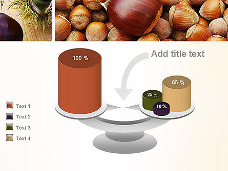 Nuts Collage PowerPoint Template Slide 10