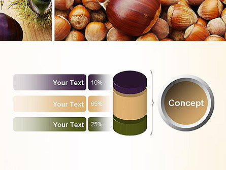 Nuts Collage PowerPoint Template Slide 11