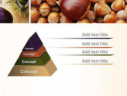 Nuts Collage PowerPoint Template Slide 12