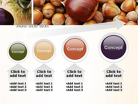 Nuts Collage PowerPoint Template Slide 13