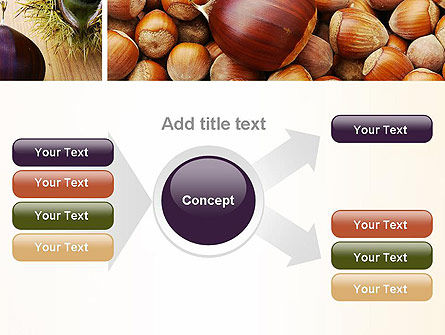 Nuts Collage PowerPoint Template Slide 14