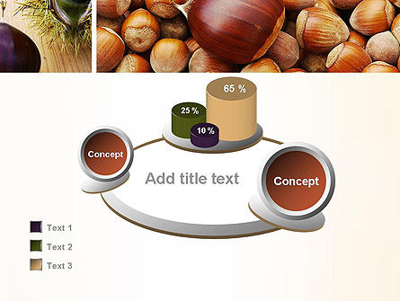Nuts Collage PowerPoint Template Slide 16