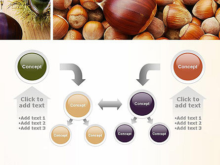 Nuts Collage PowerPoint Template Slide 19
