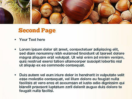 Nuts Collage PowerPoint Template, Slide 2, 10898, Food & Beverage — PoweredTemplate.com