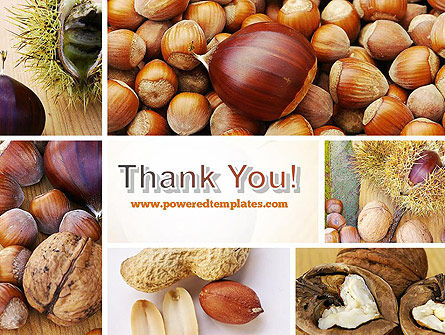 Nuts Collage PowerPoint Template Slide 20