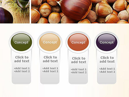 Nuts Collage PowerPoint Template Slide 5