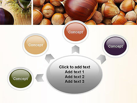 Nuts Collage PowerPoint Template Slide 7