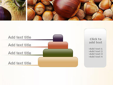 Nuts Collage PowerPoint Template Slide 8