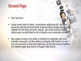 Office Collage PowerPoint Template#2