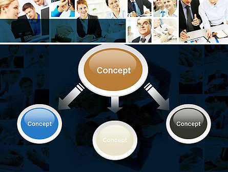 Working Together PowerPoint Template Slide 4