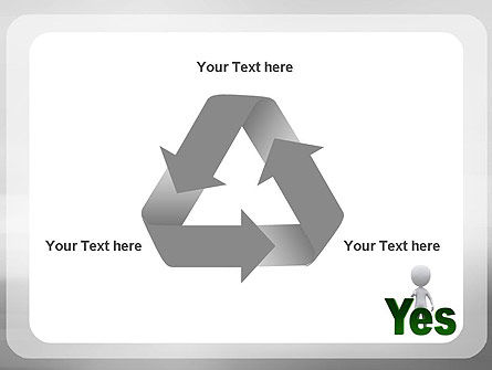 Yes PowerPoint Template Slide 10