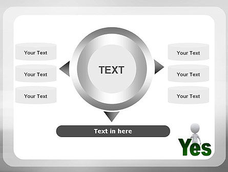 Yes PowerPoint Template Slide 12