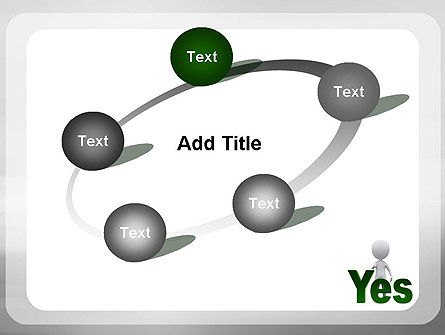 Yes PowerPoint Template Slide 14