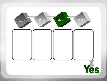 Yes PowerPoint Template Slide 18