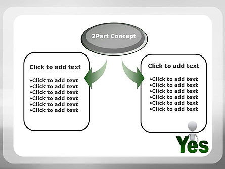 Yes PowerPoint Template, Slide 4, 10903, Business Concepts — PoweredTemplate.com
